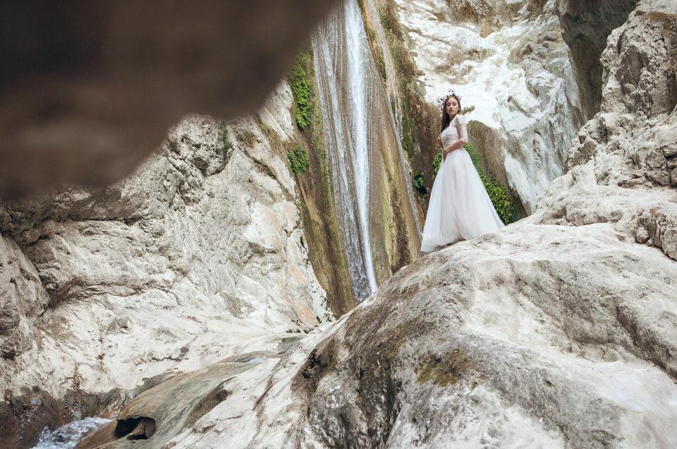 Ślubna sesja plenerowa w Grecji