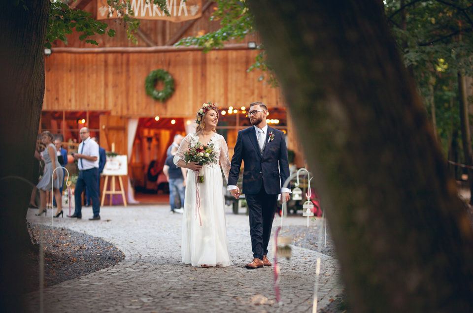 Natalia & Paweł | Rustykalne wesele w Winiarni w Jeziorkach