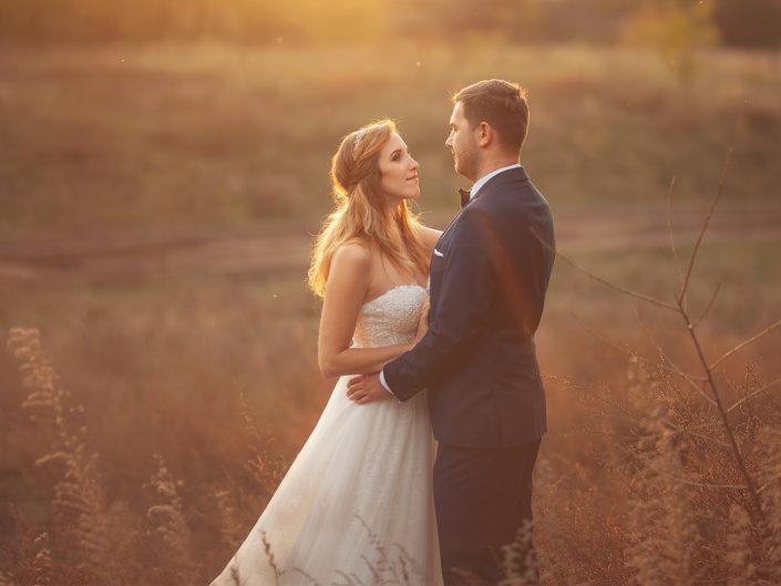 Plener ślubny w październiku